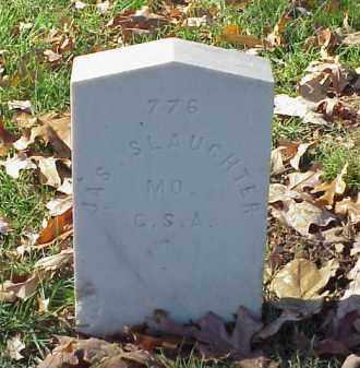 SLAUGHTER (VETERAN CSA), JAMES - Pulaski County, Arkansas | JAMES SLAUGHTER (VETERAN CSA) - Arkansas Gravestone Photos