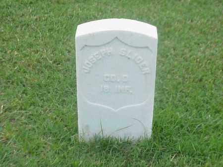 SLICER (VETERAN UNION), JOSEPH - Pulaski County, Arkansas | JOSEPH SLICER (VETERAN UNION) - Arkansas Gravestone Photos
