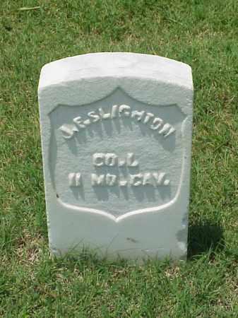 SLIGHTON (VETERAN UNION), J F - Pulaski County, Arkansas   J F SLIGHTON (VETERAN UNION) - Arkansas Gravestone Photos