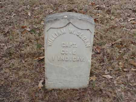 SLOAN (VETERAN UNION), WILLIAM W - Pulaski County, Arkansas | WILLIAM W SLOAN (VETERAN UNION) - Arkansas Gravestone Photos