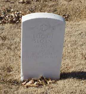 SLOAN (VETERAN WWI), ELIGAH - Pulaski County, Arkansas | ELIGAH SLOAN (VETERAN WWI) - Arkansas Gravestone Photos