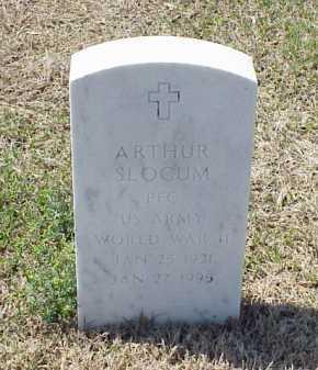 SLOCUM (VETERAN WWII), ARTHUR - Pulaski County, Arkansas | ARTHUR SLOCUM (VETERAN WWII) - Arkansas Gravestone Photos