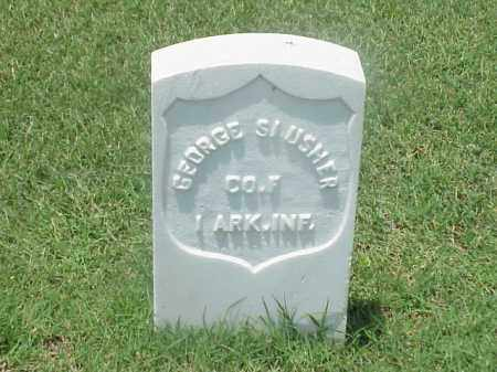 SLUSHER (VETERAN UNION), GEORGE - Pulaski County, Arkansas   GEORGE SLUSHER (VETERAN UNION) - Arkansas Gravestone Photos