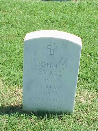 SMALL (VETERAN KOR), JOHN D - Pulaski County, Arkansas | JOHN D SMALL (VETERAN KOR) - Arkansas Gravestone Photos