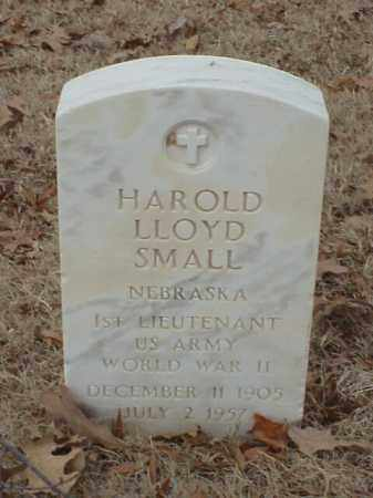 SMALL (VETERAN WWII), HAROLD LLOYD - Pulaski County, Arkansas | HAROLD LLOYD SMALL (VETERAN WWII) - Arkansas Gravestone Photos