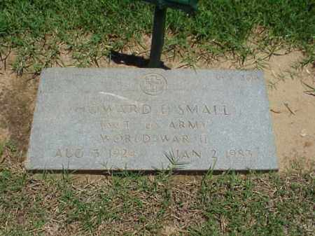 SMALL (VETERAN WWII), HOWARD E - Pulaski County, Arkansas | HOWARD E SMALL (VETERAN WWII) - Arkansas Gravestone Photos