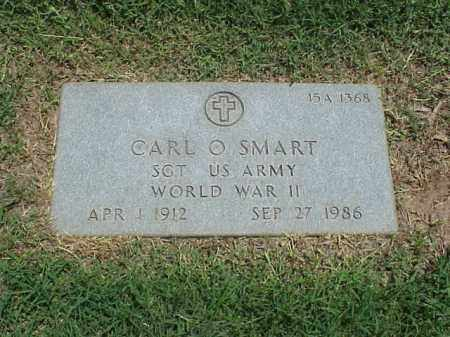 SMART (VETERAN WWII), CARL O - Pulaski County, Arkansas | CARL O SMART (VETERAN WWII) - Arkansas Gravestone Photos