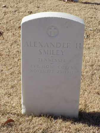 SMILEY (VETERAN), ALEXANDER H - Pulaski County, Arkansas | ALEXANDER H SMILEY (VETERAN) - Arkansas Gravestone Photos