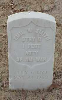 SMITH  (VETERAN SAW), EMIL W - Pulaski County, Arkansas | EMIL W SMITH  (VETERAN SAW) - Arkansas Gravestone Photos