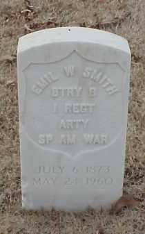 SMITH  (VETERAN SAW), EMIL W - Pulaski County, Arkansas | EMIL W SMITH  (VETERAN SAW) - Arkansas Gravestone Photos