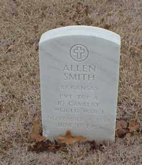 SMITH  (VETERAN WWI), ALLEN - Pulaski County, Arkansas | ALLEN SMITH  (VETERAN WWI) - Arkansas Gravestone Photos