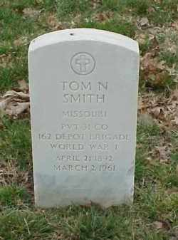 SMITH  (VETERAN WWI), TOM N - Pulaski County, Arkansas | TOM N SMITH  (VETERAN WWI) - Arkansas Gravestone Photos