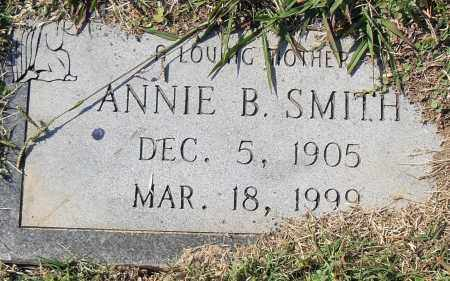 SMITH, ANNIE B - Pulaski County, Arkansas | ANNIE B SMITH - Arkansas Gravestone Photos