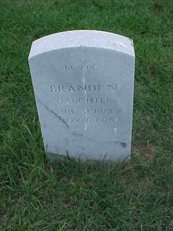 SMITH, BRANDI N - Pulaski County, Arkansas | BRANDI N SMITH - Arkansas Gravestone Photos