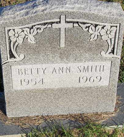 SMITH, BETTY ANN - Pulaski County, Arkansas | BETTY ANN SMITH - Arkansas Gravestone Photos