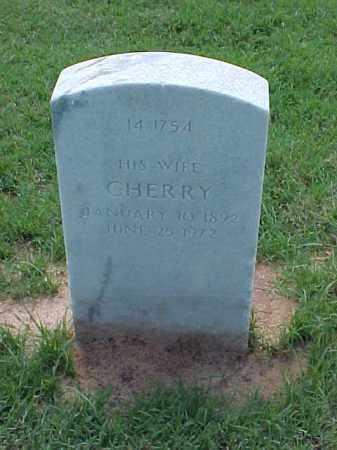SMITH, CHERRY - Pulaski County, Arkansas | CHERRY SMITH - Arkansas Gravestone Photos