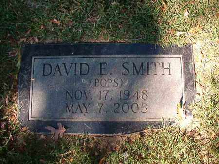 SMITH, DAVID E - Pulaski County, Arkansas | DAVID E SMITH - Arkansas Gravestone Photos