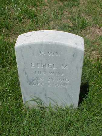 SMITH, ETHEL M - Pulaski County, Arkansas | ETHEL M SMITH - Arkansas Gravestone Photos