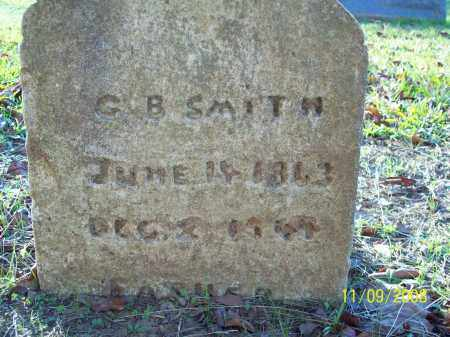 SMITH, G.B. - Pulaski County, Arkansas | G.B. SMITH - Arkansas Gravestone Photos
