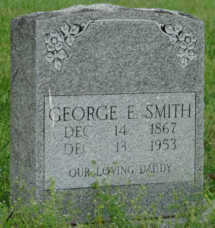 SMITH, GEORGE E. - Pulaski County, Arkansas | GEORGE E. SMITH - Arkansas Gravestone Photos