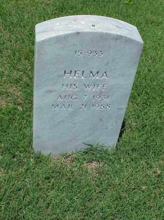 SMITH, HELMA - Pulaski County, Arkansas | HELMA SMITH - Arkansas Gravestone Photos