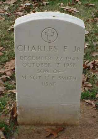 SMITH, JR, CHARLES F - Pulaski County, Arkansas | CHARLES F SMITH, JR - Arkansas Gravestone Photos