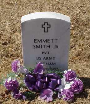 SMITH, JR (VETERAN VIET), EMMETT - Pulaski County, Arkansas | EMMETT SMITH, JR (VETERAN VIET) - Arkansas Gravestone Photos