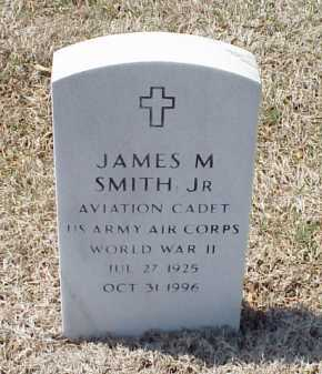 SMITH, JR (VETERAN WWII), JAMES M - Pulaski County, Arkansas | JAMES M SMITH, JR (VETERAN WWII) - Arkansas Gravestone Photos