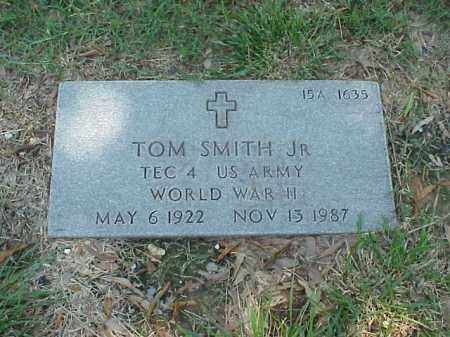 SMITH, JR (VETERAN WWII), TOM - Pulaski County, Arkansas | TOM SMITH, JR (VETERAN WWII) - Arkansas Gravestone Photos