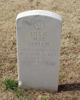 TAYLOR, LILLIE MAE SMITH - Pulaski County, Arkansas | LILLIE MAE SMITH TAYLOR - Arkansas Gravestone Photos