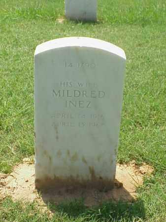 SMITH, MILDRED INEZ - Pulaski County, Arkansas | MILDRED INEZ SMITH - Arkansas Gravestone Photos
