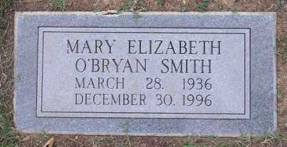 O'BRYAN SMITH, MARY ELIZABETH - Pulaski County, Arkansas | MARY ELIZABETH O'BRYAN SMITH - Arkansas Gravestone Photos