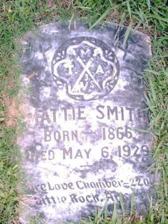 SMITH, MATTIE - Pulaski County, Arkansas | MATTIE SMITH - Arkansas Gravestone Photos
