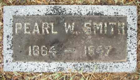 SMITH, PEARL W. - Pulaski County, Arkansas | PEARL W. SMITH - Arkansas Gravestone Photos