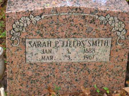 FIELDS SMITH, SARAH P. - Pulaski County, Arkansas | SARAH P. FIELDS SMITH - Arkansas Gravestone Photos