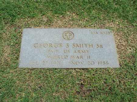 SMITH, SR (VETERAN WWII), GEORGE S - Pulaski County, Arkansas | GEORGE S SMITH, SR (VETERAN WWII) - Arkansas Gravestone Photos