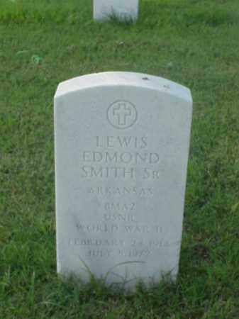 SMITH, SR (VETERAN WWII), LEWIS EDMOND - Pulaski County, Arkansas | LEWIS EDMOND SMITH, SR (VETERAN WWII) - Arkansas Gravestone Photos