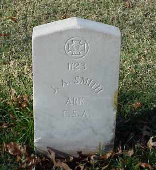 SMITH (VETERAN CSA), J A - Pulaski County, Arkansas | J A SMITH (VETERAN CSA) - Arkansas Gravestone Photos