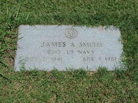 SMITH (VETERAN), JAMES A - Pulaski County, Arkansas   JAMES A SMITH (VETERAN) - Arkansas Gravestone Photos