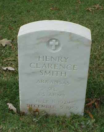 SMITH (VETERAN KOR), HENRY CLARENCE - Pulaski County, Arkansas | HENRY CLARENCE SMITH (VETERAN KOR) - Arkansas Gravestone Photos