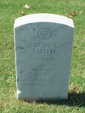 SMITH (VETERAN KOR), LEON C - Pulaski County, Arkansas | LEON C SMITH (VETERAN KOR) - Arkansas Gravestone Photos