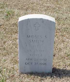 SMITH (VETERAN KOR), MOSES S - Pulaski County, Arkansas | MOSES S SMITH (VETERAN KOR) - Arkansas Gravestone Photos