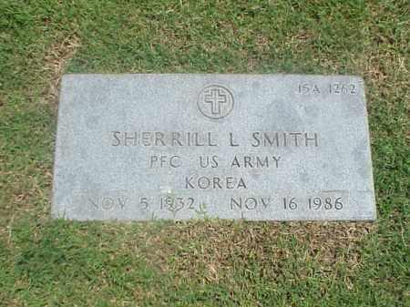 SMITH (VETERAN KOR), SHERRILL L - Pulaski County, Arkansas | SHERRILL L SMITH (VETERAN KOR) - Arkansas Gravestone Photos