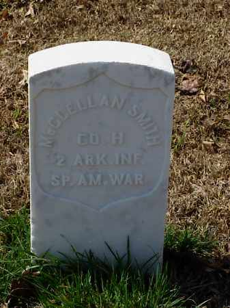 SMITH (VETERAN SAW), MCCLELLAN - Pulaski County, Arkansas | MCCLELLAN SMITH (VETERAN SAW) - Arkansas Gravestone Photos