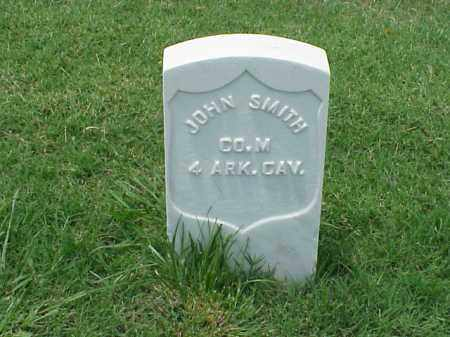 SMITH (VETERAN UNION), JOHN - Pulaski County, Arkansas | JOHN SMITH (VETERAN UNION) - Arkansas Gravestone Photos