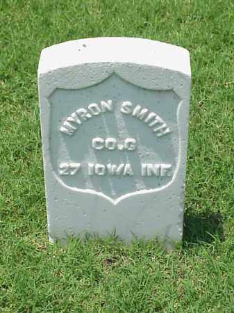 SMITH (VETERAN UNION), MYRON - Pulaski County, Arkansas | MYRON SMITH (VETERAN UNION) - Arkansas Gravestone Photos