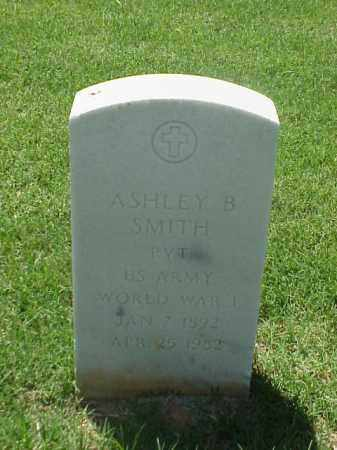 SMITH (VETERAN WWI), ASHLEY B - Pulaski County, Arkansas | ASHLEY B SMITH (VETERAN WWI) - Arkansas Gravestone Photos