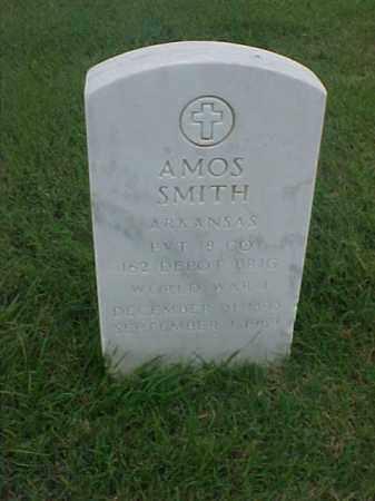 SMITH (VETERAN WWI), AMOS - Pulaski County, Arkansas | AMOS SMITH (VETERAN WWI) - Arkansas Gravestone Photos