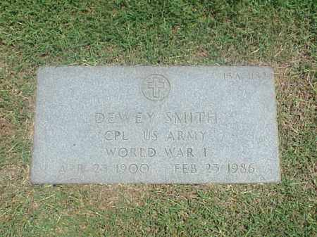 SMITH (VETERAN WWI), DEWEY - Pulaski County, Arkansas | DEWEY SMITH (VETERAN WWI) - Arkansas Gravestone Photos