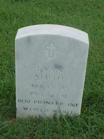 SMITH (VETERAN WWI), EVAN - Pulaski County, Arkansas | EVAN SMITH (VETERAN WWI) - Arkansas Gravestone Photos